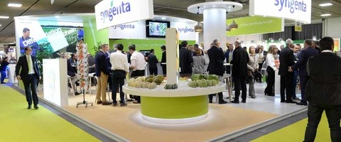 Stand Syngenta au salon Fruit Logistica 2017 à Berlin