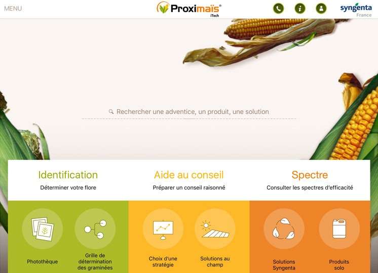Application Proximaïs iTech