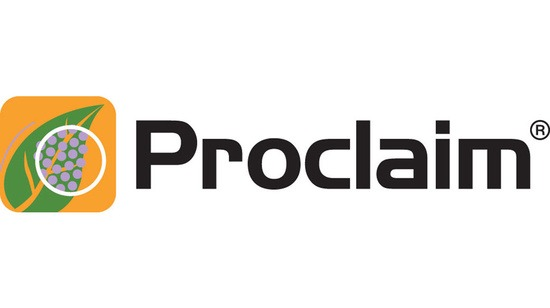 Logo insecticide Proclaim grand format