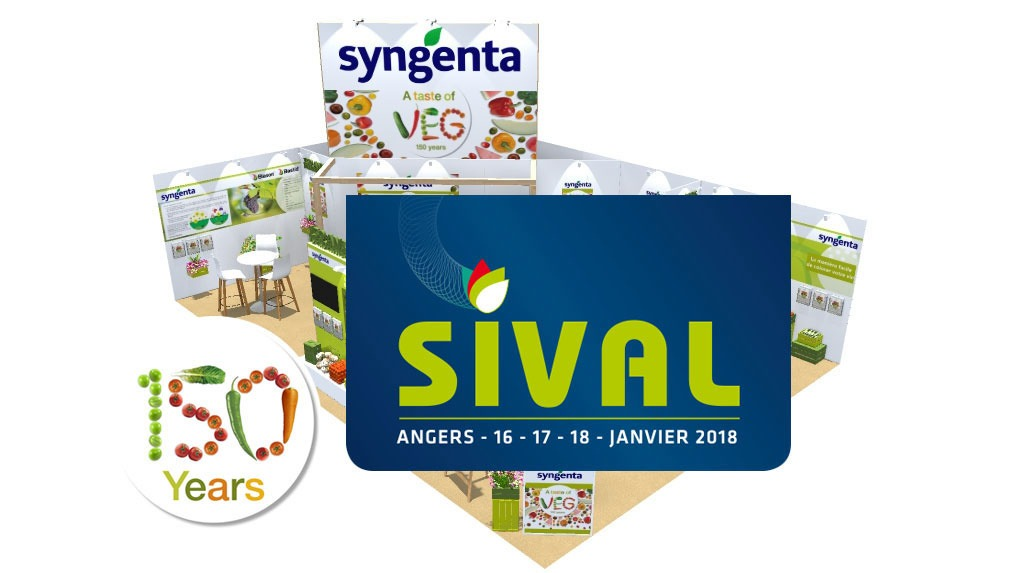 Stand Syngenta au SIVAL 2018